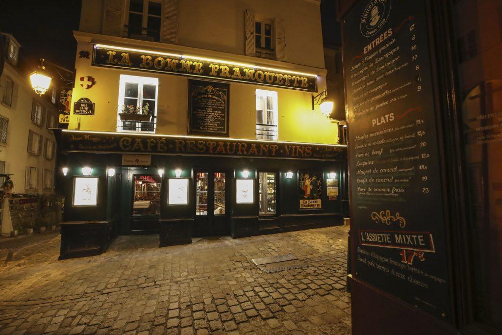 Secret Paris restaurant welcomed more than 110 guests