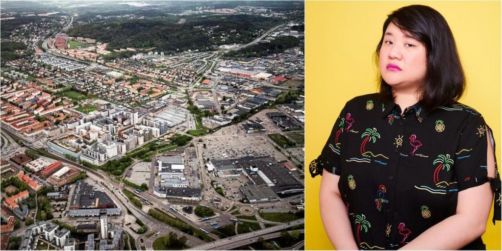 SVT comedian has been subjected to racist attack in Gothenburg