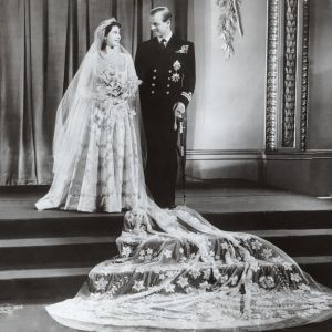 Prince Philip and Princess Elizabeth were married on November 20, 1947.
