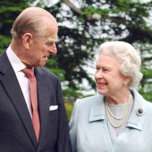 Prince Philip and Queen Elizabeth.