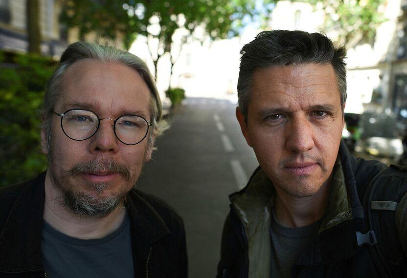 Eric de la Regera and Mehdi Chebel.
