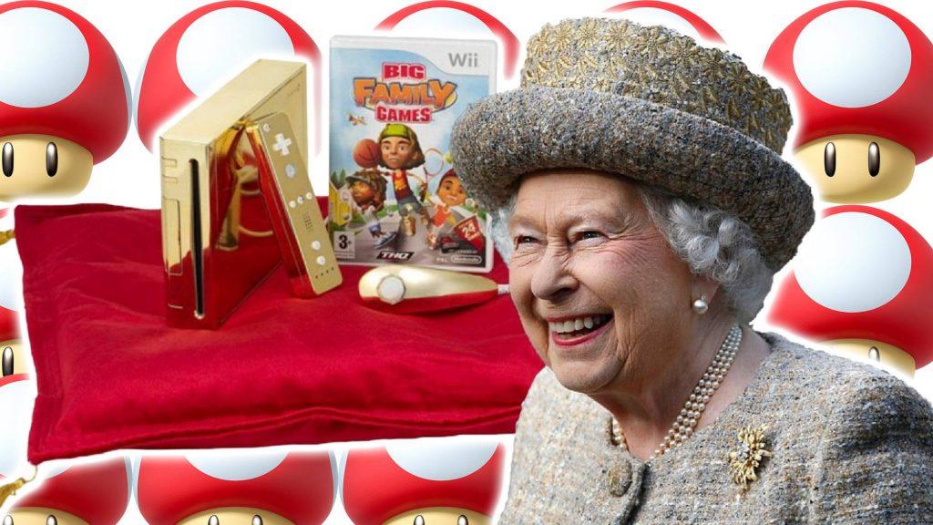 You can now buy a Queen Elizabeth Nintendo Wii in 24 karats of gold for 2.5 million SEK