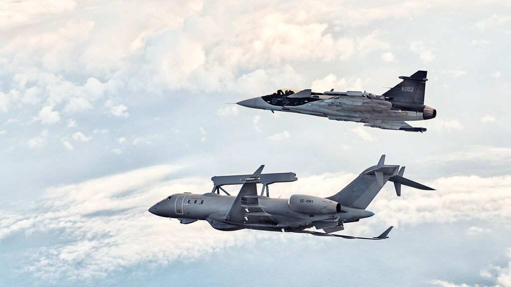 Saab and Sweden are battling Gripen's Finnish demand of 100 billion