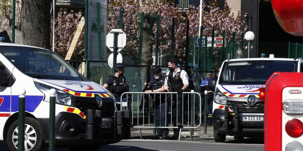 A woman dies in a suspected terrorist attack in France