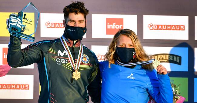Charlotte Banks and Lucas Ijibar won the gold medal at the World Cup