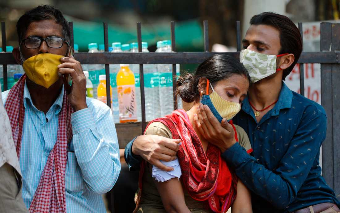 India recorded more deaths on Thursday than any other country.