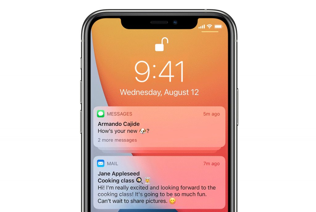 Major changes to iOS 15 notifications. IMessage will be more like WhatsApp