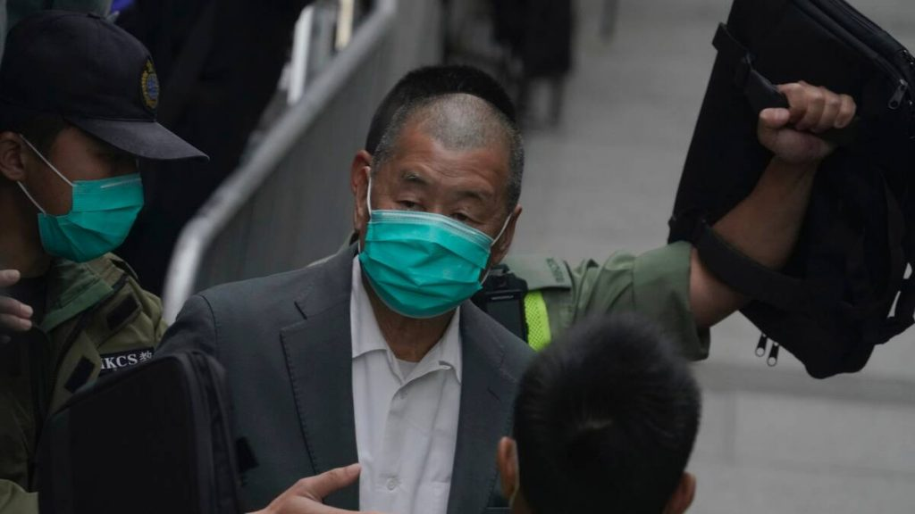 Media mogul Jimmy Lai has been punished twice in Hong Kong