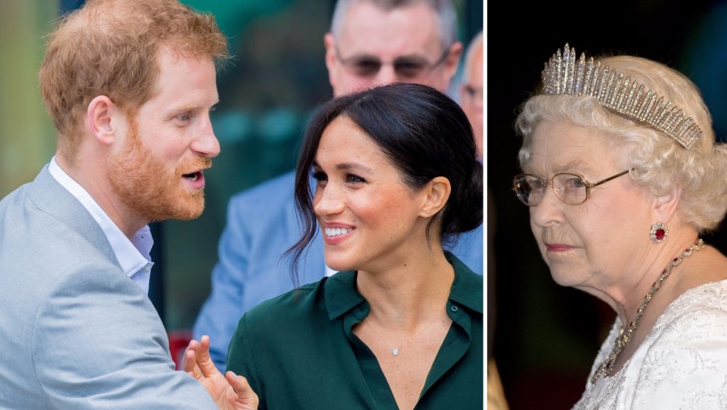 Megan and Harry sever ties with the British royal family
