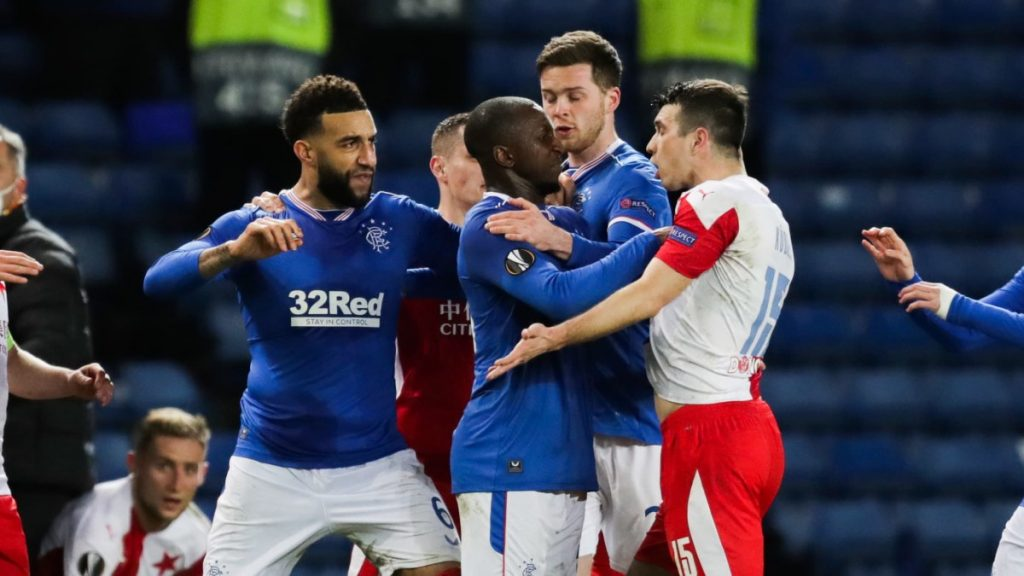 Messy Outing in Rangers' European Game: Racist Attack on Glen Camara - Slavia Prague accuses Finn of violence after match  Sports