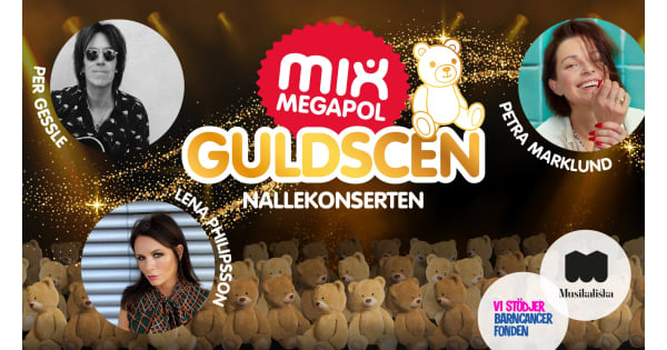 Mix Megapol has raised more than a million for the Children's Cancer Foundation