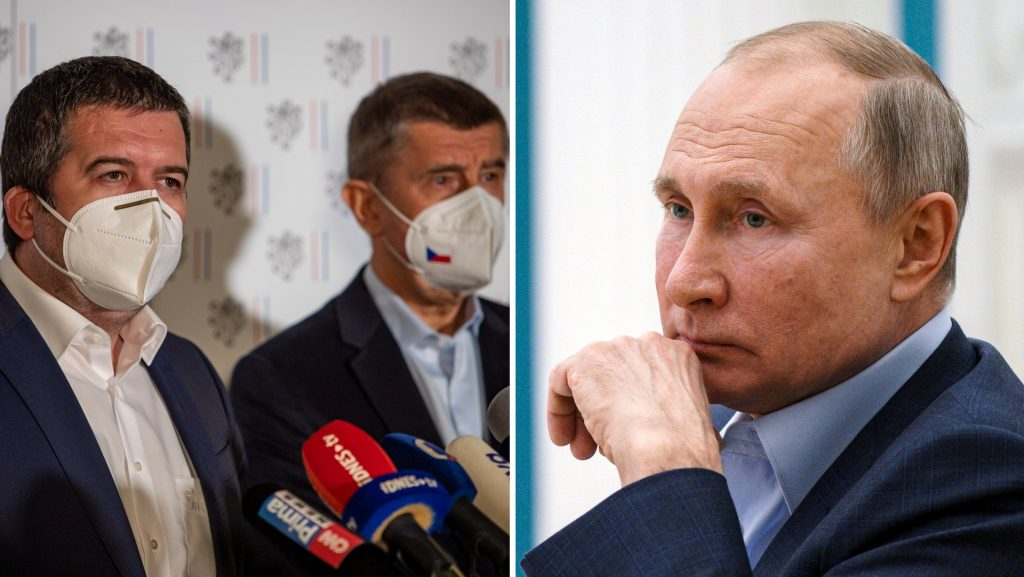 Russia promised the threat after the Czech Republic's accusations