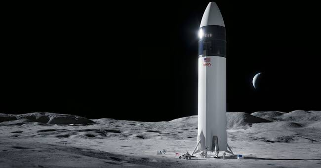 SpaceX wins a billion dollar contract - to take people to the moon