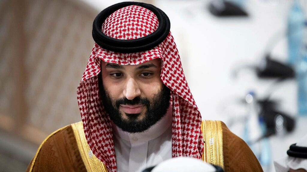 The crown prince speaks in a divided tongue