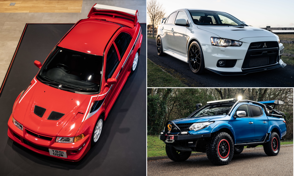 Be warned - Mitsubishi UK is auctioning its entire fleet of collector cars