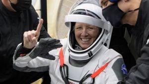 Astronaut Shannon Walker