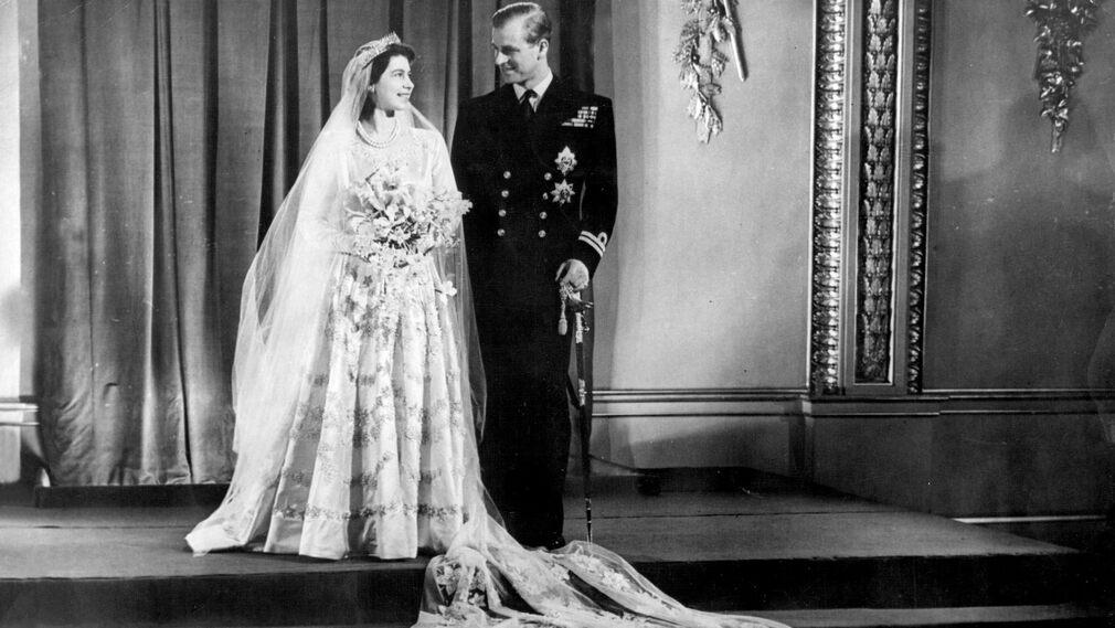 Anniversary of the wedding of Elizabeth and Philip Mountbatten, November 20, 1947.