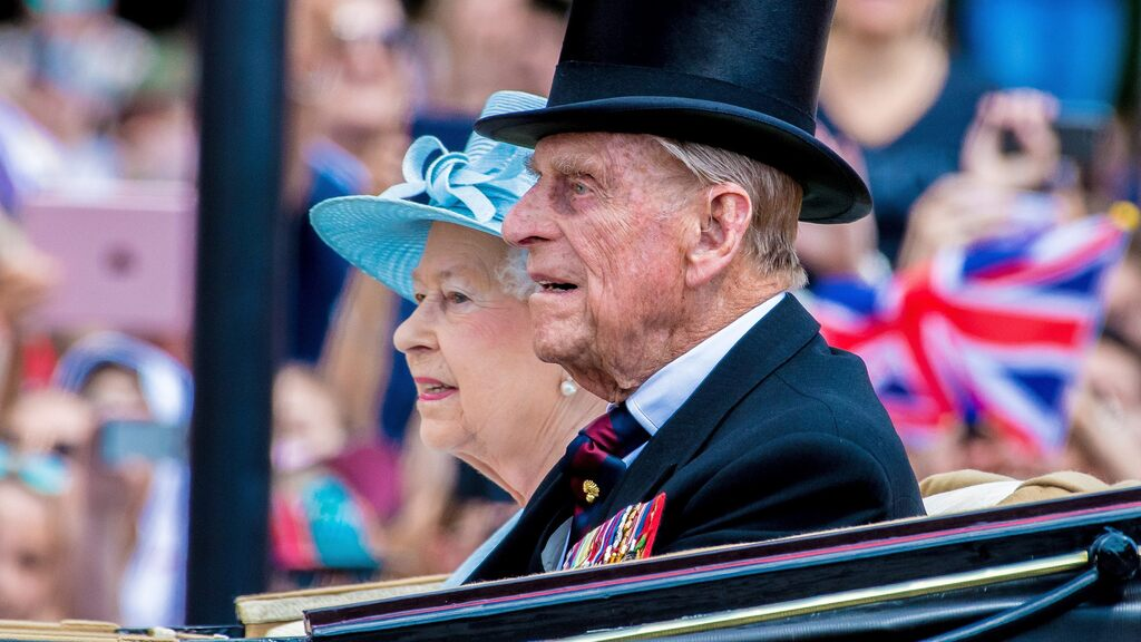 Britain's Prince Philip is dead - look at his life in pictures