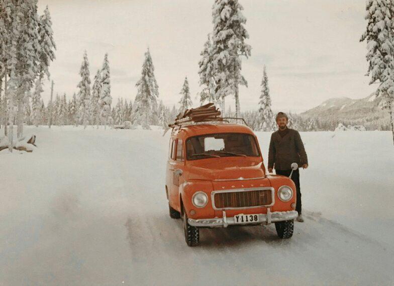 Roland Sjölander at Televerket's Volvo Duet with text