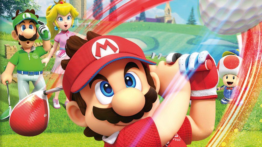 "Swing the club in ""Mario Golf: Super Rush"" |  Movie Zain"