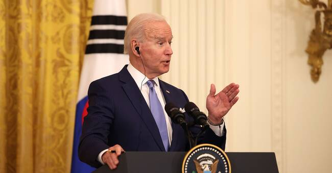 """Biden: The two-state solution is the """"only solution""""    SVT News"""