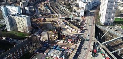 UK High Speed Railways HS2, GBP62M, SKSKA performs major biling work for approximately SEK 720 million