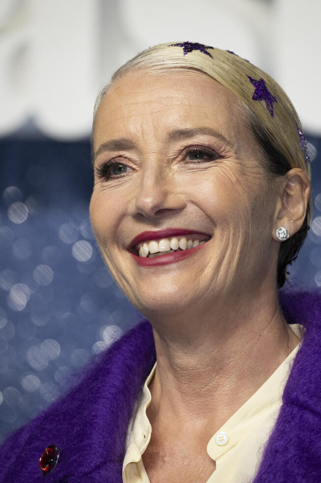 Emma Thompson says she had no difficulty playing the evil role.