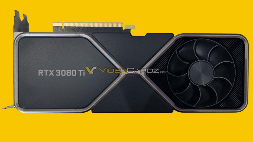 The Nvidia Geforce RTX 3080 Ti Founders Edition stumbles into the photo