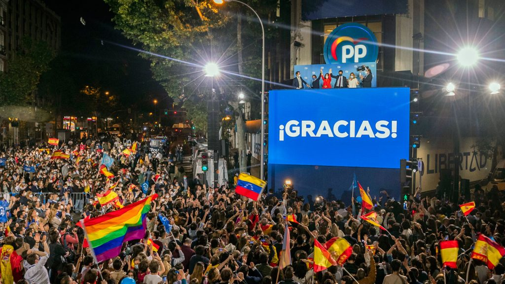 A big victory for the right in Madrid