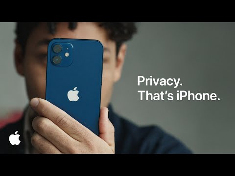 Apple explains what ad tracking looks like.  New commercial ad for transparency app tracking