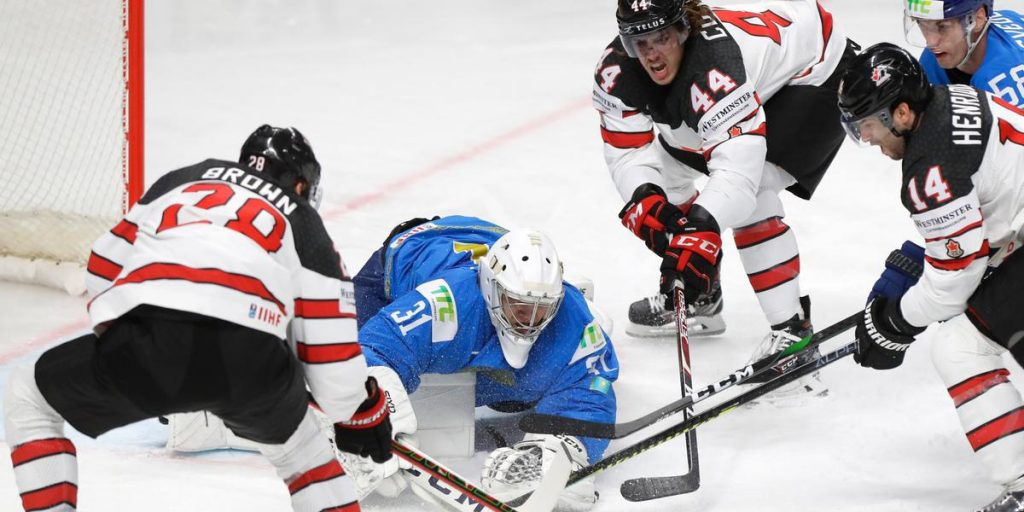 Canada came out badly against Kazakhstan - short win