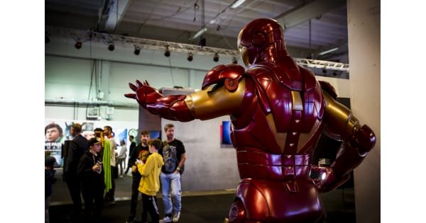 Comic Con has been relocated in Stockholm and Gothenburg due to the pandemic