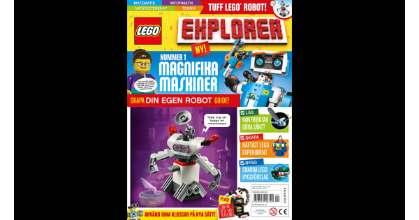 Egmont releases a new children's magazine in 14 countries - LEGO® Explorer