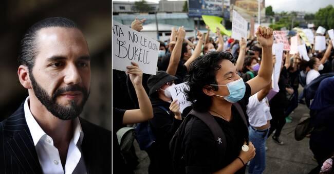 El Salvador is increasingly authoritarian    SVT News
