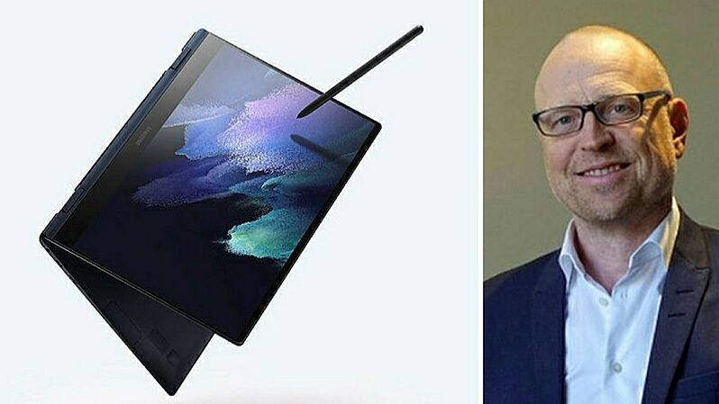 "Galaxy Book Pro with 5g for ""New Age Business"""