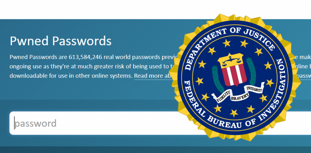 Have I Been Pwned gets the FBI as a collaborator