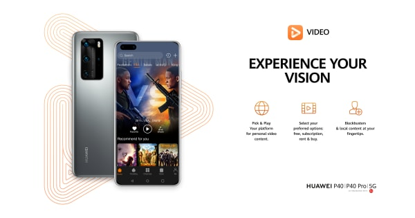 Huawei launches Huawei Video    Consumer Huawei Sweden