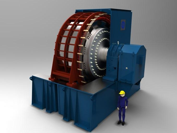 Huge flywheels will secure the frequency in the UK