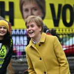 It is uncertain whether the National Party will gain a majority in Scotland