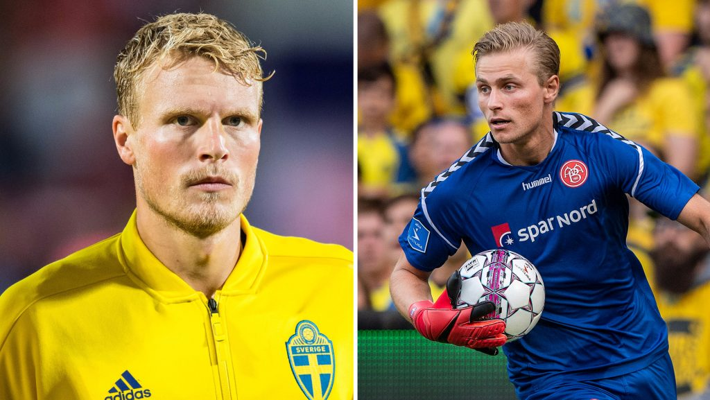 Jacob Wren and Oscar Helmark have been called up for the national team.