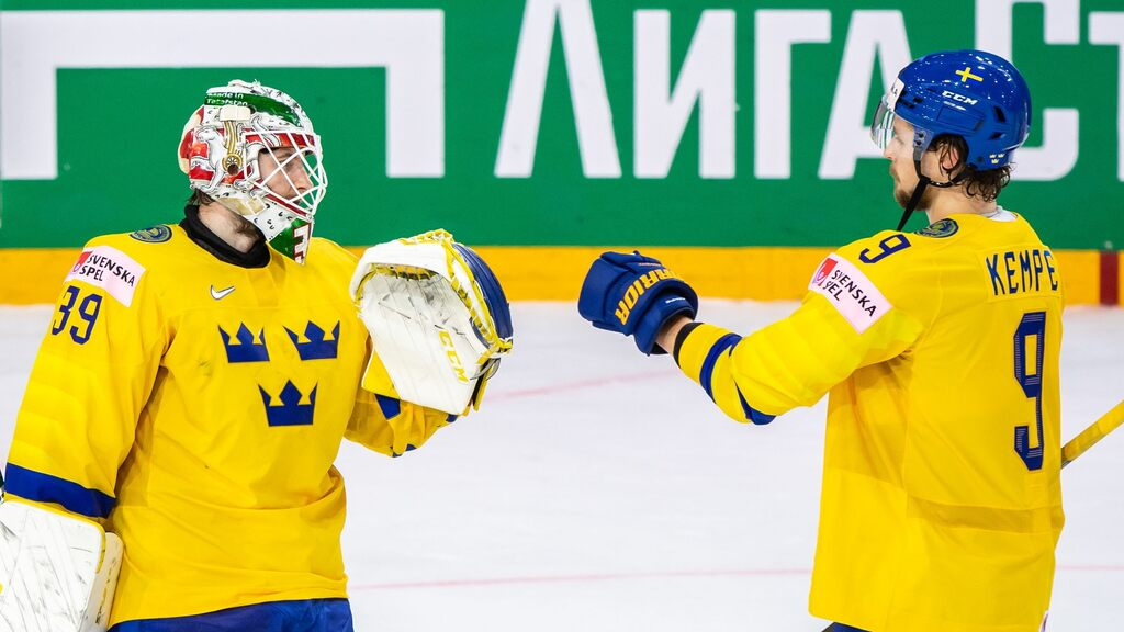 Match Proof - Tre Kronor is chasing second place in a row against the Czech Republic