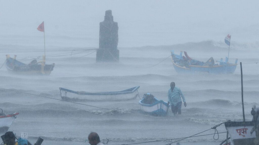 Much was lost at sea after devastating hurricanes in India