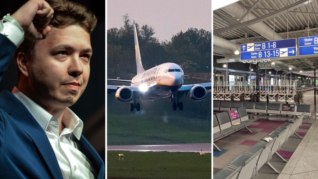 Mysterious men left the plane in Belarus - they were identified as KGB agents