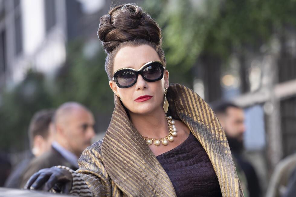 Emma Thompson as Baroness in Cruella.  click on the picture.