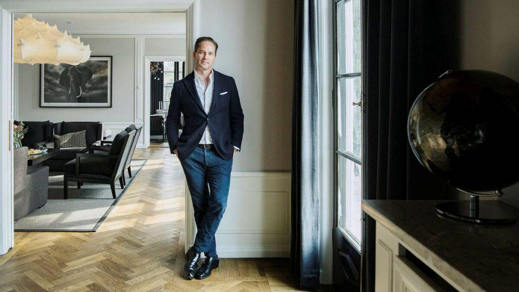 Ryds Bilglas CEO Anders Jensen's journey to luxury in Djursholm