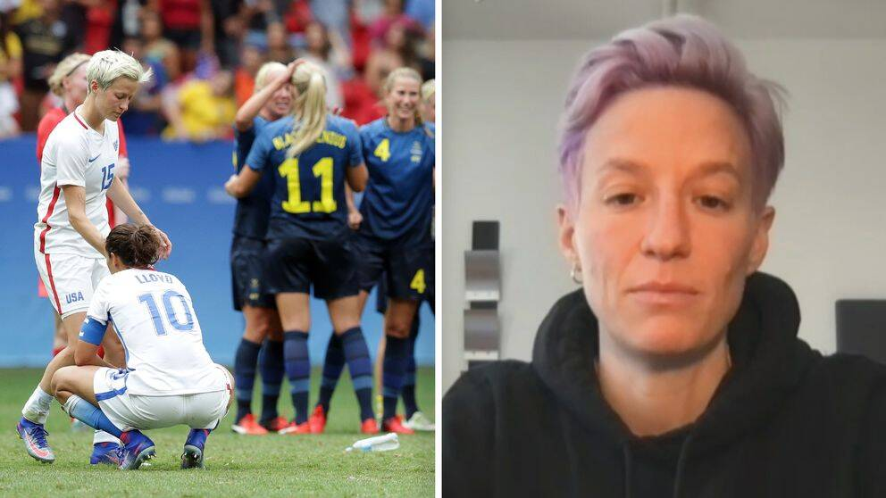 Megan Rapinoe can still remember the heavy loss against Sweden in the quarter-finals of the 2016 Olympics.