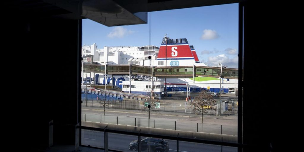 Tax-free alcoholic drinks are attracting more customers to the Stena Line Ferries