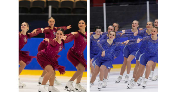 Team spirit and coastal team to the World Junior Championships in figure skating synchronized