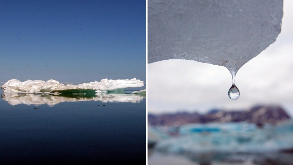 The Greenland ice sheet is melting faster and faster