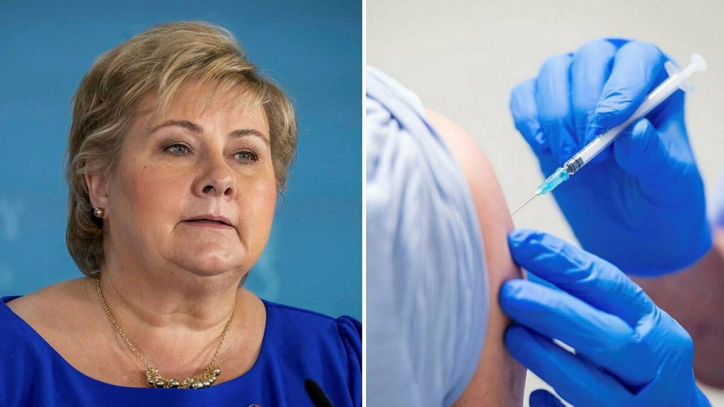 The Norwegian government should take the lead on the vaccine waiting list - the priority is faced with criticism